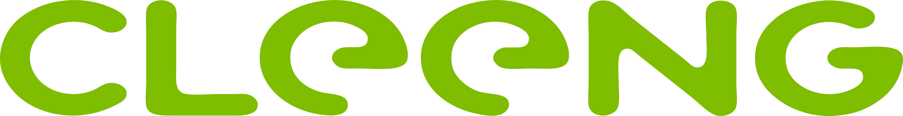 Cleeng logo - green without tagline